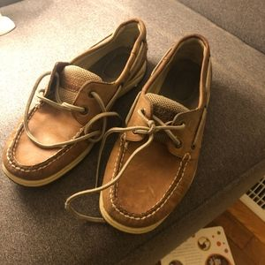 Leather Sperry Size 6.5
